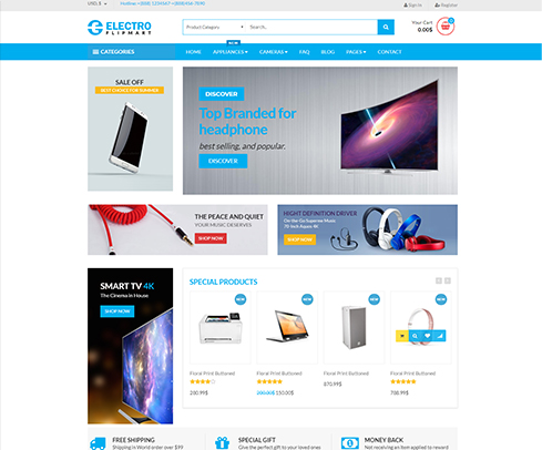 electro E-commerce Store