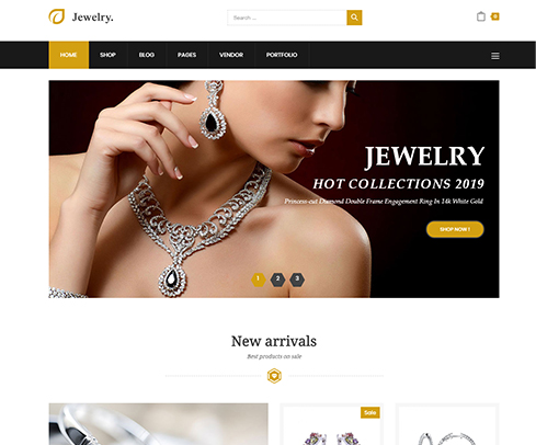 jewelry E-commerce Store