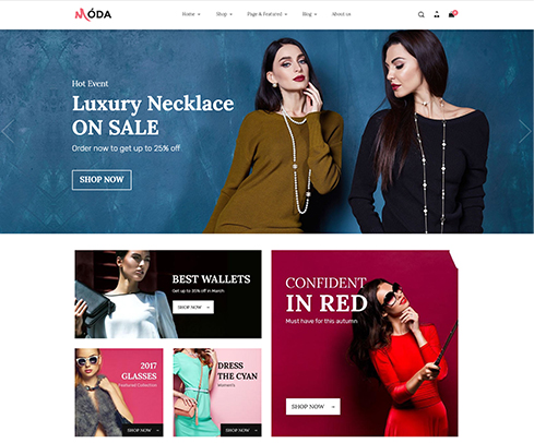 Moda E-commerce Store