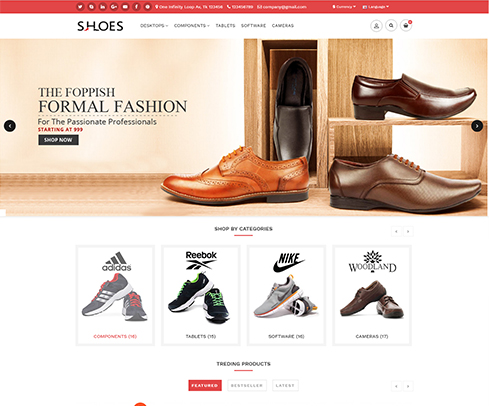 Shoes E-commerce Store