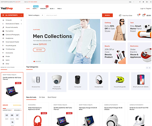 Yozi E-commerce Store